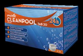 CLEANPOOL TAB 20, 240 g- Ταμπλέτα Κροκιδωτικού