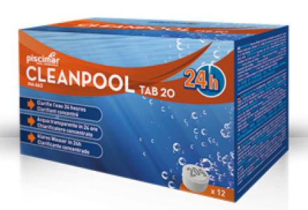 CLEANPOOL TAB 20, 240 g- Καθαριστική ταμπλέτα